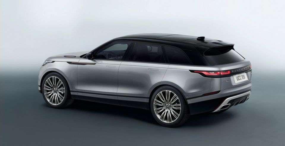 Стартували російські продажі нового кросовера Range Rover Velar