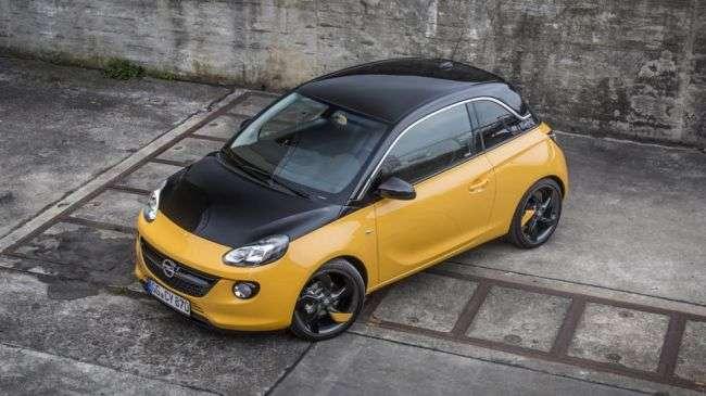 Opel назвав ціни на маленький Adam Black Jack