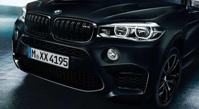 У BMW X5 M і BMW X6 M зявилася особлива спецсерія Black Fire