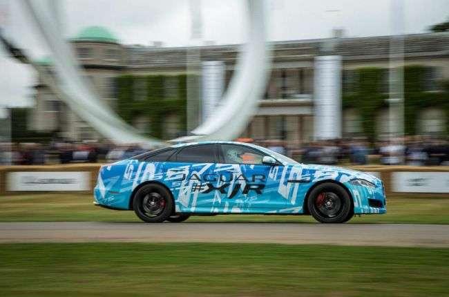 Для седана Jaguar XJ підготував нову 575-сильну версію