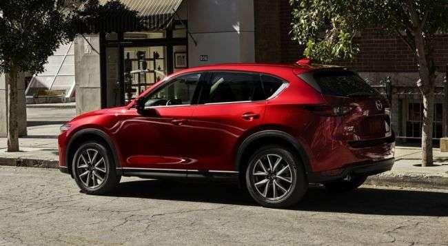 У Росії стартували продажі нового покоління кросовера Mazda CX-5