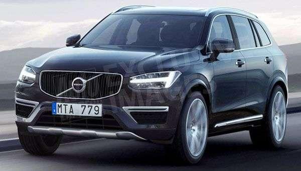 Опубліковані незалежні рендери нового кросовера Volvo ХС40