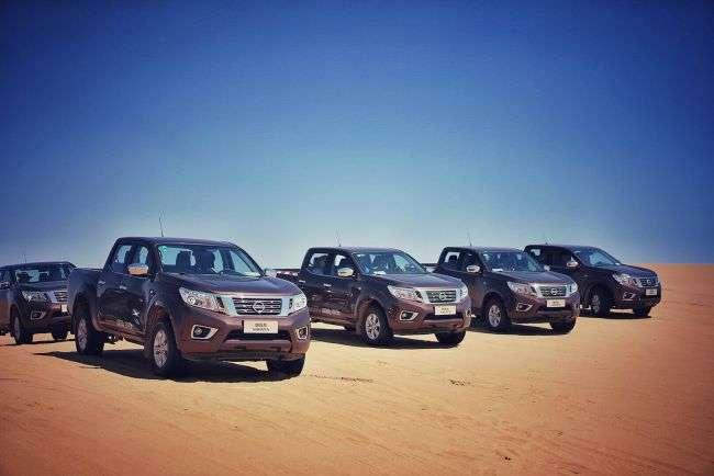 Nissan виводить на авторинок КНР свій пікап Navara 2017