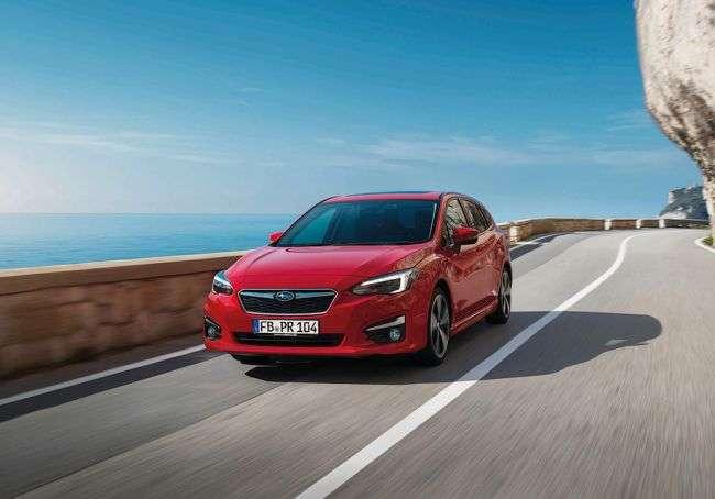 У Франкфурті дебютує європейська Subaru Impreza