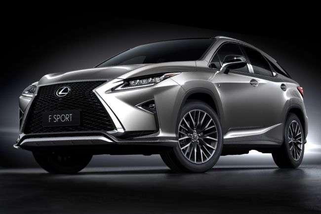 Lexus восени 2017 року представить два нових кросовера