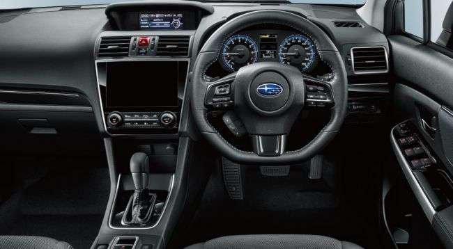 Subaru офіційно представила оновлений універсал Levorg