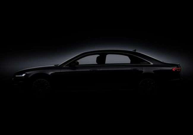 У нового Audi A8 буде повністю оригінальний дизайн оптики