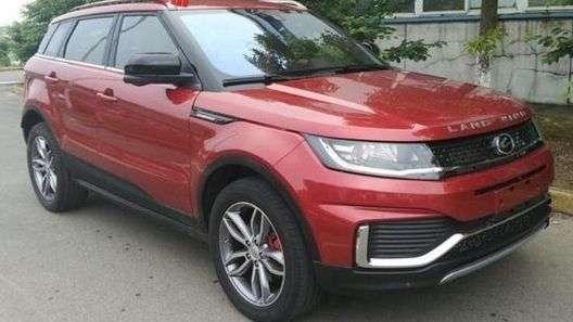 Landwind оновив китайського клону Range Rover Evoque