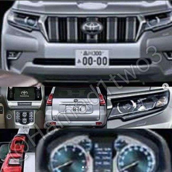 Інформація про старт продажів нового Toyota Land Cruiser Prado зявилася в Мережі
