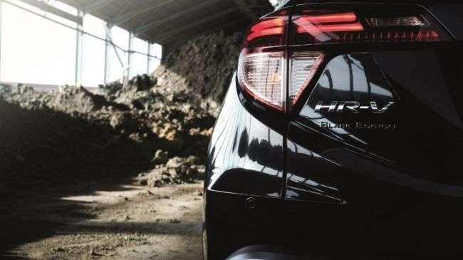 Honda підготувала для кросовера HR-V нову версію Black Edition