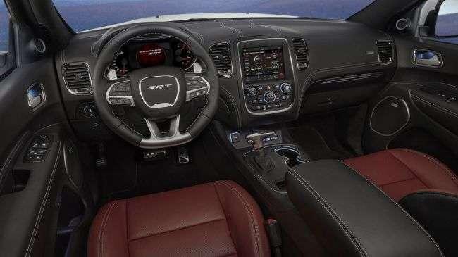 Названа ціна «зарядженого позашляховика Dodge Durango SRT 2018