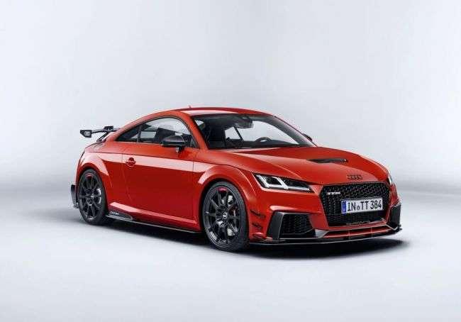 Audi підготувала пакет доопрацювань для спорткарів R8 і TT RS