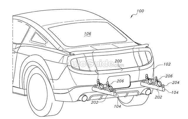 Ford запатентував висувне кріплення для велосипедів