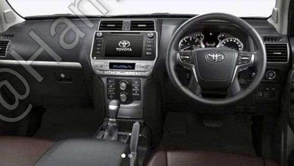 В Мережі опубліковані «свіжі» фото оновленого Toyota Land Cruiser Prado 2017