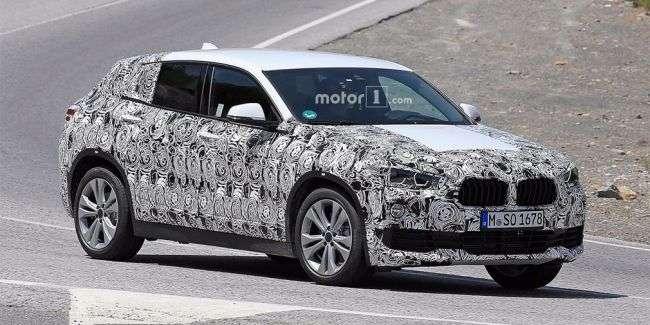 BMW на тести вивела серійний кросовер BMW X2
