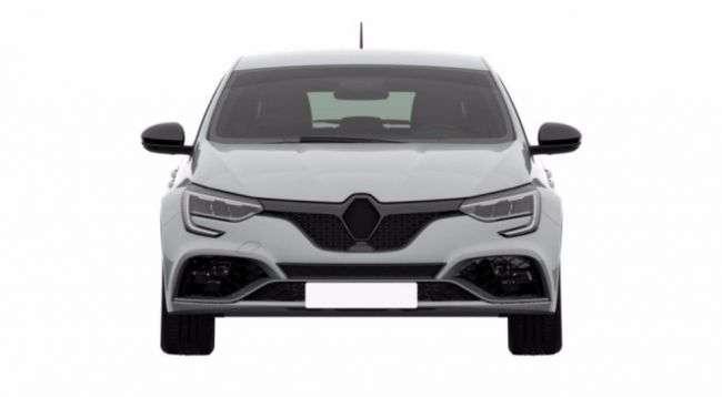 У Мережі зявилися патентні знімки нового Renault Megane RS 2018
