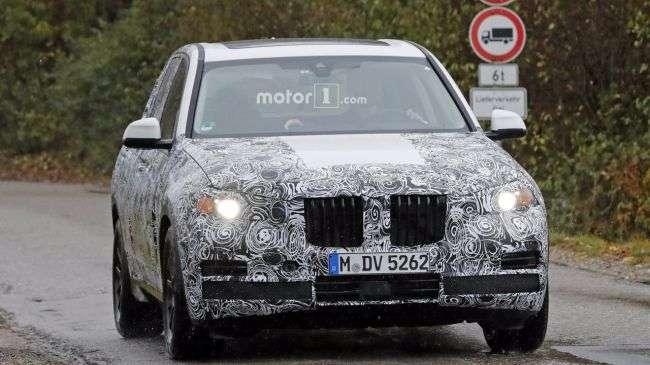 Новий BMW X5 M вперше помітили на дорогах Німеччини