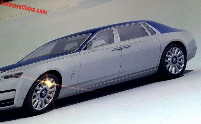 Онлайн-брошура розсекретила дизайн нового Rolls-Royce Phantom