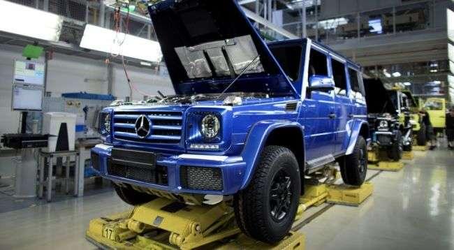 З конвеєра заводу зійшов 300-тисячний позашляховик Mercedes-Benz G-Class