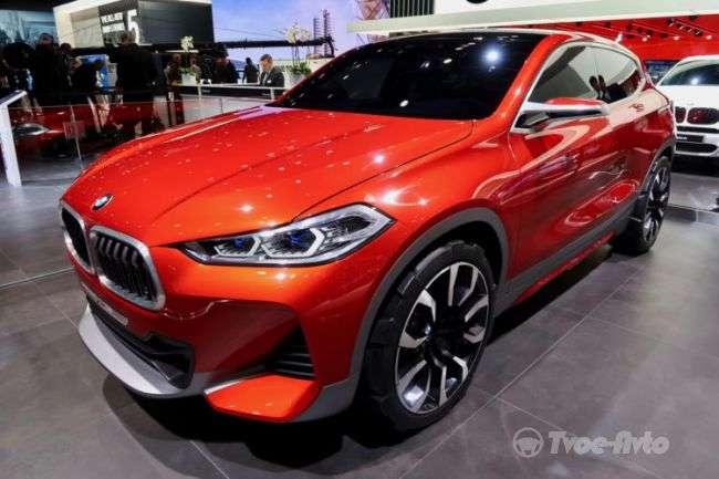 Стали відомі технічні характеристики новітнього кросовера BMW X2