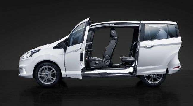 Ford знімає з виробництва модель B-Max з-за низького попиту