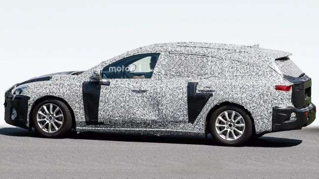 Універсал Ford Focus 2018 помітили на тестах