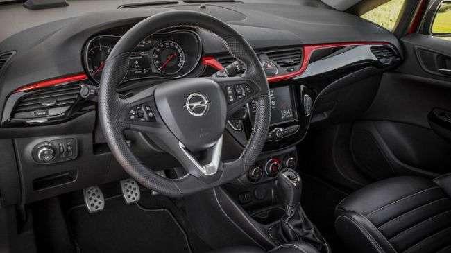 Opel розсекретила спортивну модифікацію хетчбека Corsa S