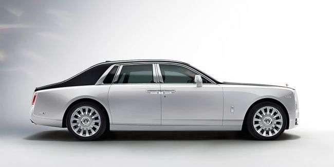 Новий Rolls-Royce Phantom представлений офіційно