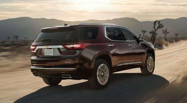 Chevrolet початку продажу нового покоління Traverse