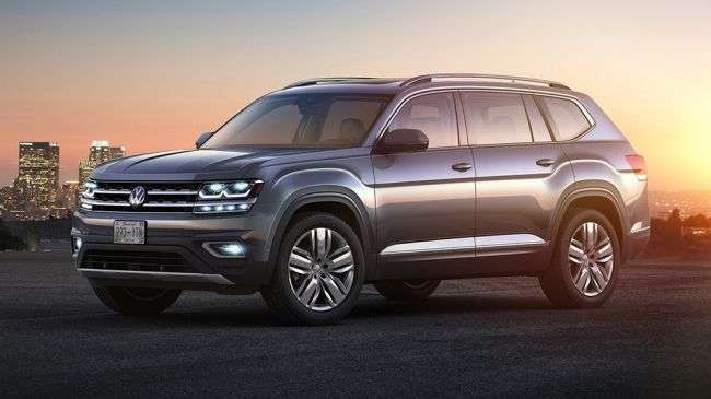 Продажі нового Volkswagen Teramont набирають обертів