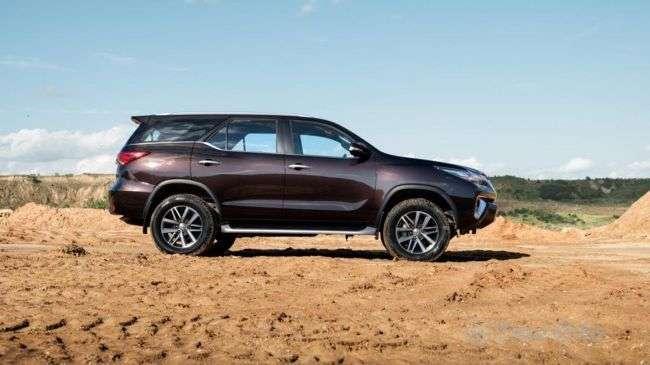 Toyota представила новий позашляховик для Росії
