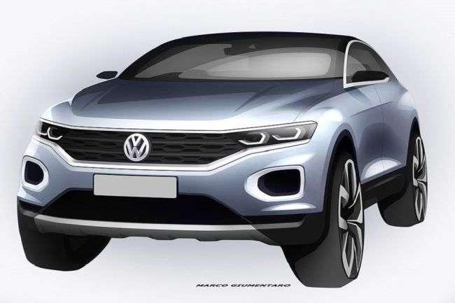 Зявилися перші зображення нового Volkswagen T-Roc