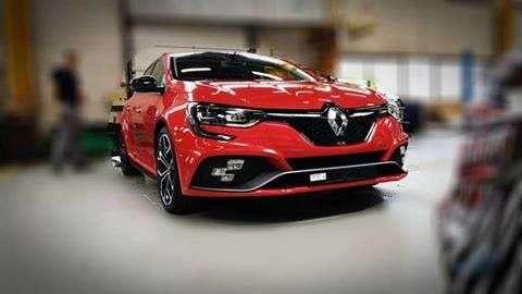 Новий Renault Megane RS зняли без камуфляжу