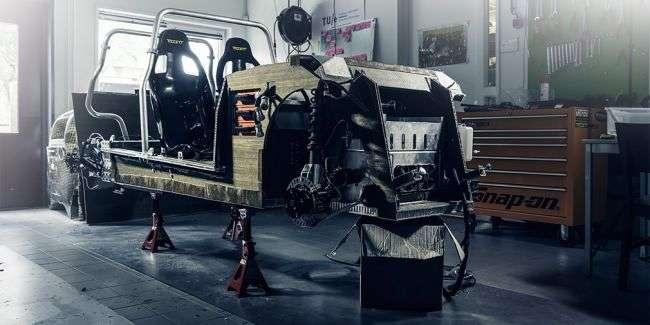 Студенти створили 310-кілограмове авто з буряка і льону