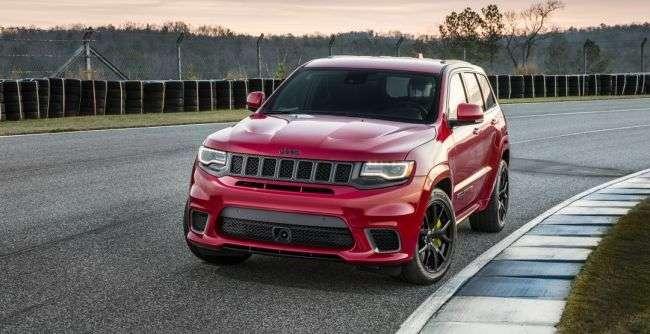 Названа вартість найдорожчого Jeep — Grand Cherokee Trackhawk