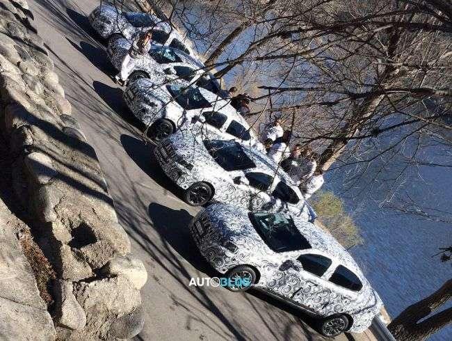 У Мережі зявилися нові фото майбутнього седана Fiat X6S