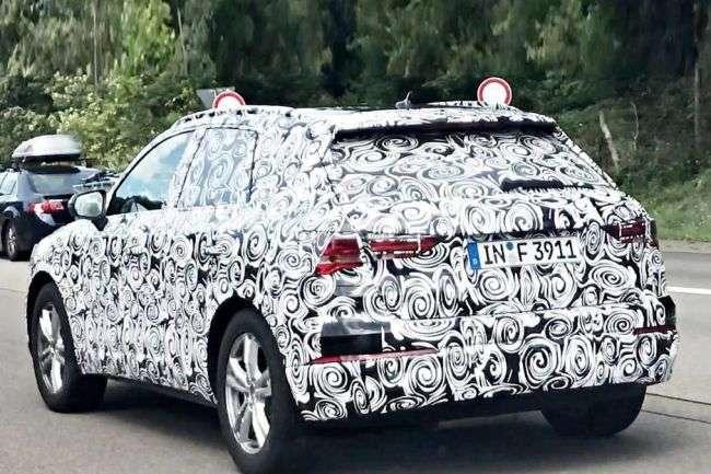 Перші шпигунські фото нового Audi Q3 опублікували в Мережі