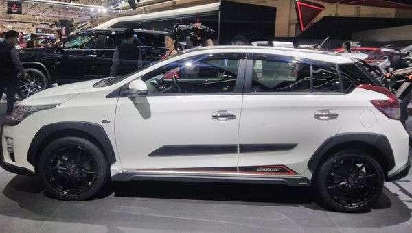 Toyota презентувала новий кросовер Toyota Yaris Heykers