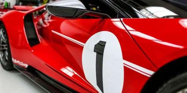 Суперкар Ford GT 2018 отримав ретро-версію «Heritage»