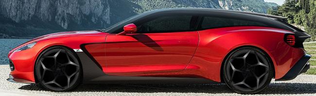 Aston Martin розсекретив Vanquish Zagato в двох нових версій