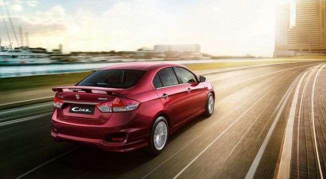 Suzuki починає продажі нового Ciaz S в Індії