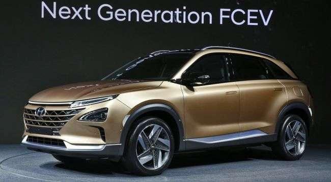 Новий водневий кросовер Hyundai представив