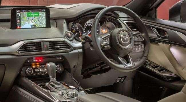 Mazda представила оновлений 7-місний CX-9 2018