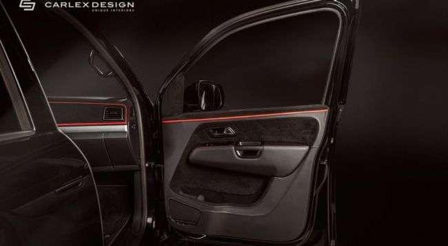 Пікап Volkswagen Amarok нагородили новим інтерєром
