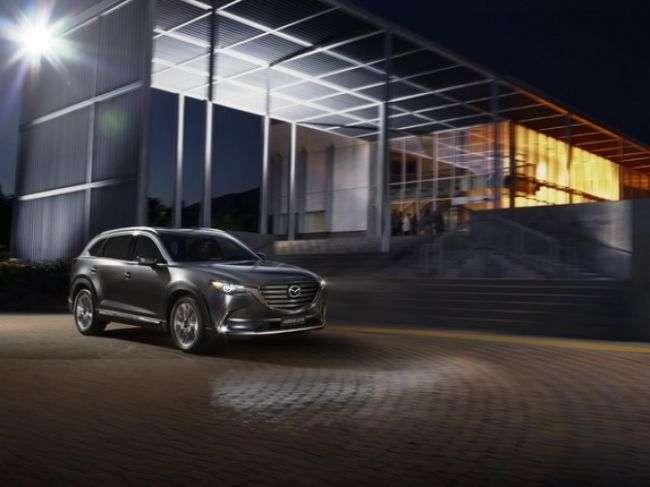 Продажі кросовера Mazda CX-9 в Росії відновлять у жовтні