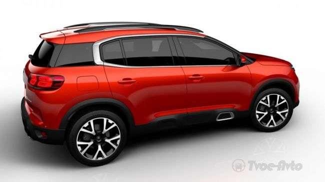 Продажі флагманського кросовера Citroen почнуться у вересні