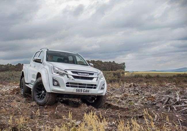 Оновлений пікап Isuzu D-Max отримав версію від Arctic Trucks