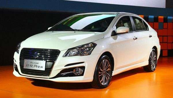 Оновлений седан Alivio Pro в Китаї представила Suzuki
