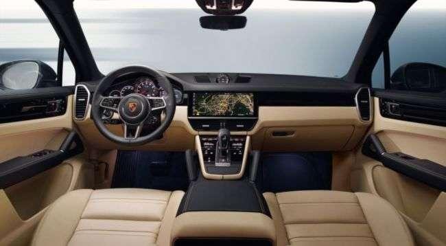 Інтерєр і екстерєр нового Porsche Cayenne розсекретили на фото