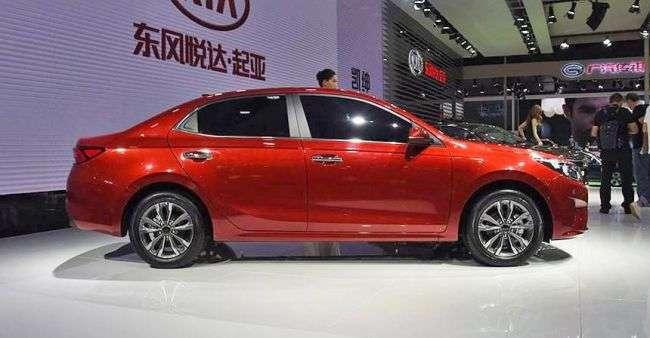У КНР офіційно представили нове покоління седана Kia Forte